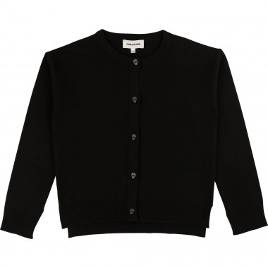 Plain knit cardigan ZADIG & VOLTAIRE for GIRL