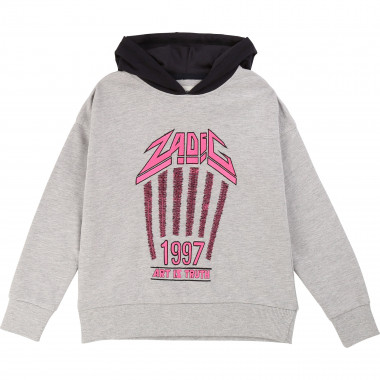Hooded fleece jumper ZADIG & VOLTAIRE for GIRL