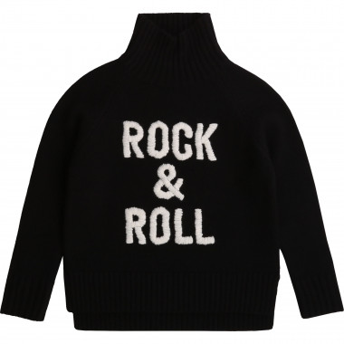 Polo-neck wool blend jumper ZADIG & VOLTAIRE for GIRL