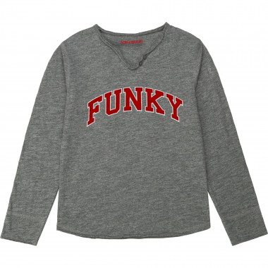 Henley neck cotton T-shirt ZADIG & VOLTAIRE for GIRL