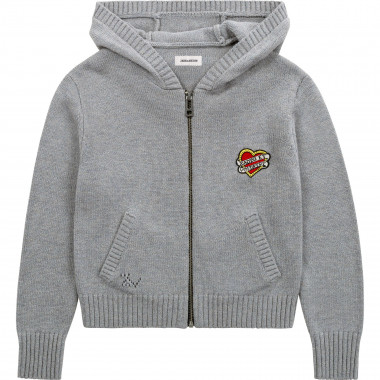 Hooded cardigan ZADIG & VOLTAIRE for GIRL