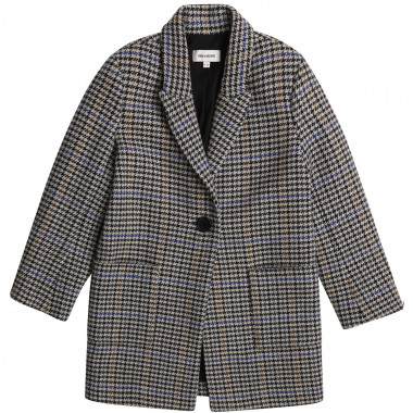 Printed wool blend coat ZADIG & VOLTAIRE for GIRL