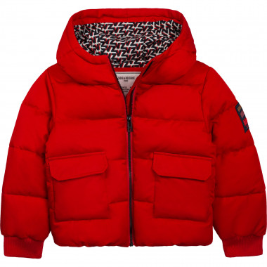 Water-repellent hooded puffer jacket ZADIG & VOLTAIRE for GIRL