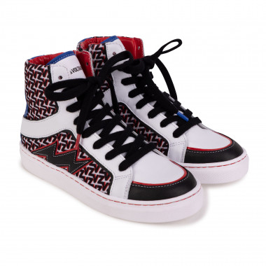 Laced high-top trainers ZADIG & VOLTAIRE for GIRL