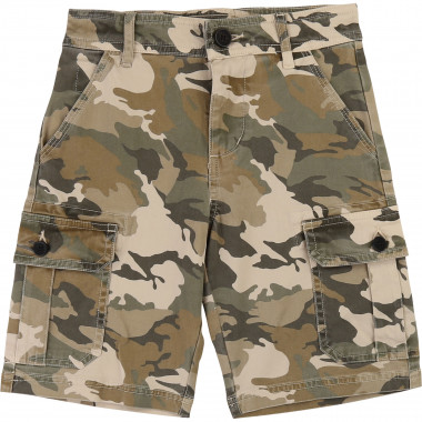 Camouflage twill shorts ZADIG & VOLTAIRE for BOY