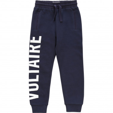 Fleece trousers with logo ZADIG & VOLTAIRE for BOY