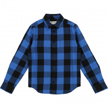 Checkered cotton shirt ZADIG & VOLTAIRE for BOY