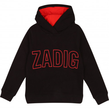 Hooded fleece jumper ZADIG & VOLTAIRE for BOY
