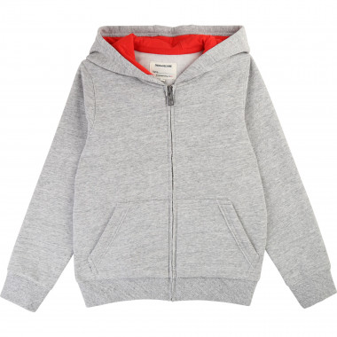 FLEECE CARDIGAN ZADIG & VOLTAIRE for BOY