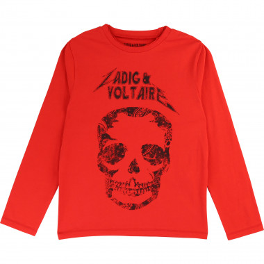 Cotton jersey T-shirt ZADIG & VOLTAIRE for BOY