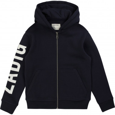 Zipped hooded cardigan ZADIG & VOLTAIRE for BOY