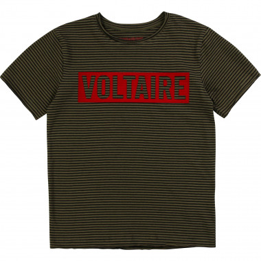 Striped cotton T-shirt ZADIG & VOLTAIRE for BOY