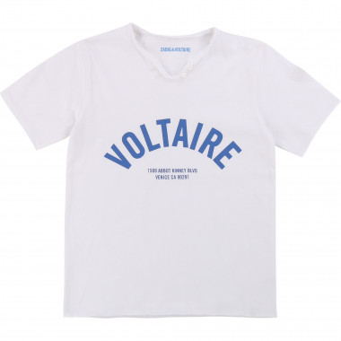 Henley-neck T-shirt ZADIG & VOLTAIRE for BOY