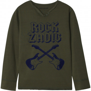 LONG SLEEVE T-SHIRT ZADIG & VOLTAIRE for BOY
