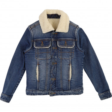 Zipped denim jacket ZADIG & VOLTAIRE for BOY