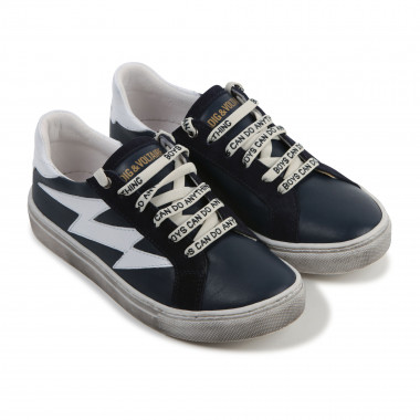 Lace-up leather trainers ZADIG & VOLTAIRE for BOY