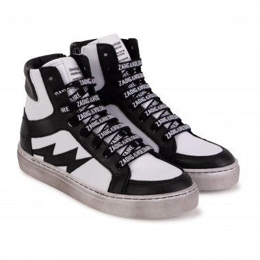Laced high-top trainers ZADIG & VOLTAIRE for BOY