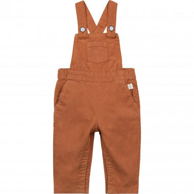 Corduroy dungarees CARREMENT BEAU for BOY