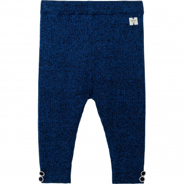 Cotton and wool knit leggings CARREMENT BEAU for BOY