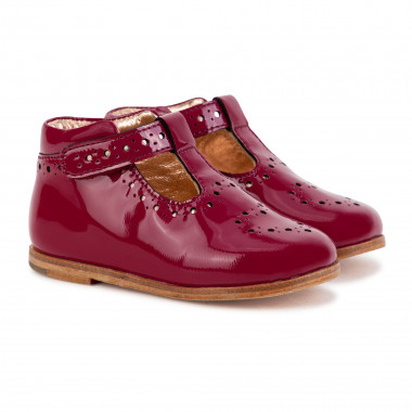 Leather booties CARREMENT BEAU for GIRL