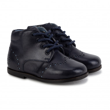 Leather booties CARREMENT BEAU for BOY
