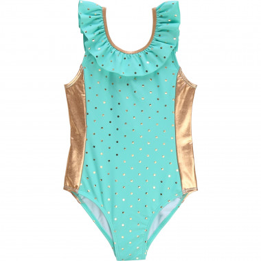 Polka dot 1-piece bathing suit CARREMENT BEAU for GIRL