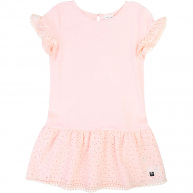 Jersey dress CARREMENT BEAU for GIRL