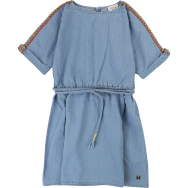 Denim dress CARREMENT BEAU for GIRL