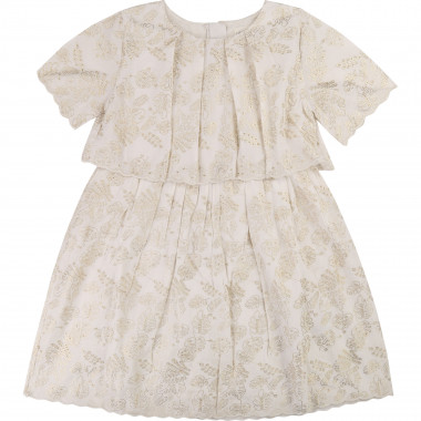 Broderie anglaise dress CARREMENT BEAU for GIRL