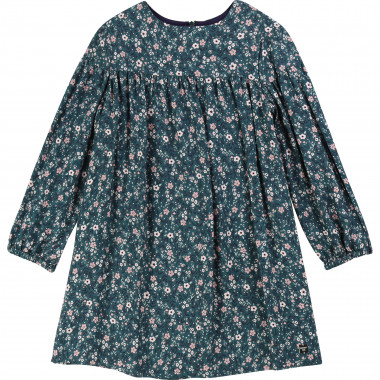 Floral viscose dress CARREMENT BEAU for GIRL
