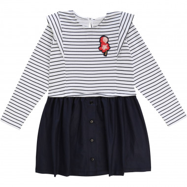 2-in-1 novelty dress CARREMENT BEAU for GIRL