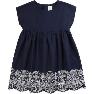 Cotton poplin dress CARREMENT BEAU for GIRL