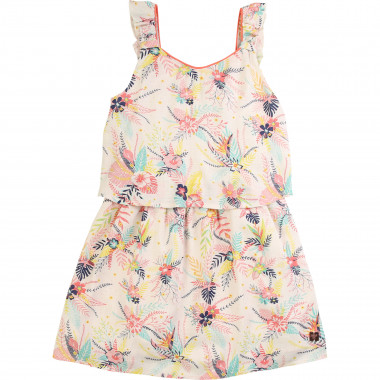 2-in-1-effect strappy dress CARREMENT BEAU for GIRL