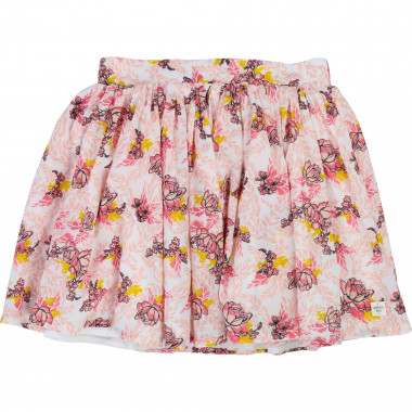 Floral-patterned skirt CARREMENT BEAU for GIRL