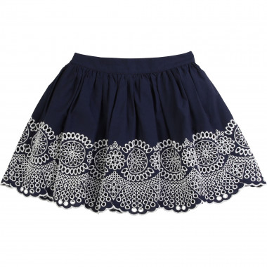 Cotton poplin skirt CARREMENT BEAU for GIRL