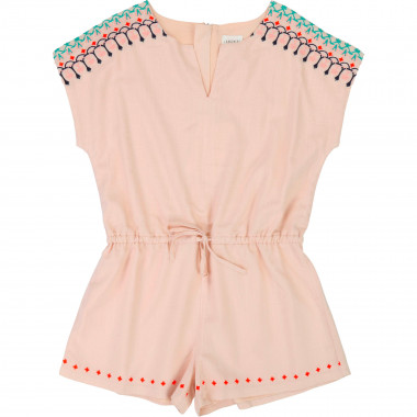 Viscose playsuit CARREMENT BEAU for GIRL