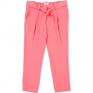 Trousers with belt CARREMENT BEAU for GIRL