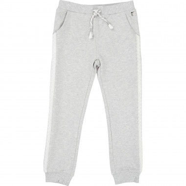 Jogging trousers with stripes CARREMENT BEAU for GIRL
