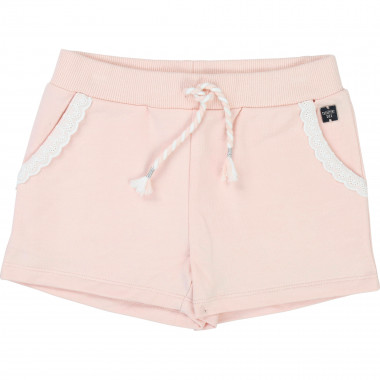 Shorts with broderie anglaise CARREMENT BEAU for GIRL