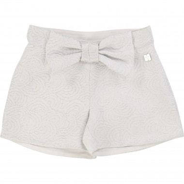 Jacquard formal shorts CARREMENT BEAU for GIRL