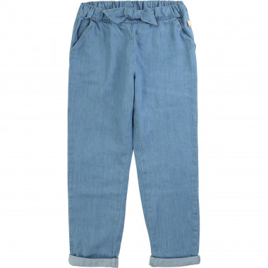 Lightweight denim trousers CARREMENT BEAU for GIRL