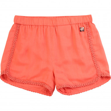 Fluid shorts with braid detail CARREMENT BEAU for GIRL