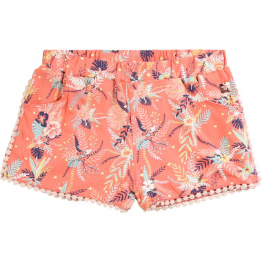 Modal and cotton jersey shorts CARREMENT BEAU for GIRL