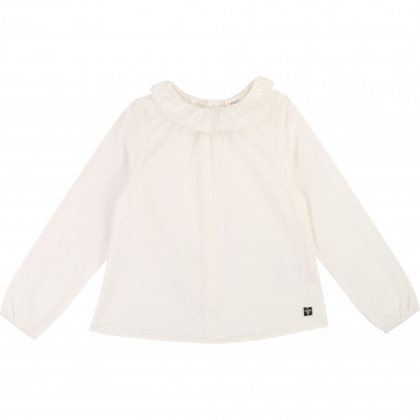Cotton poplin blouse CARREMENT BEAU for GIRL