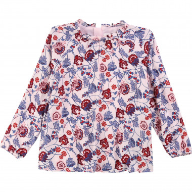 Viscose twill blouse  for