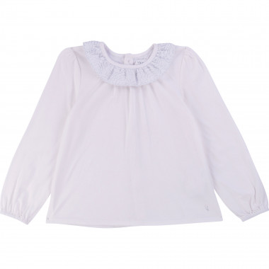 Formal cotton T-shirt CARREMENT BEAU for GIRL