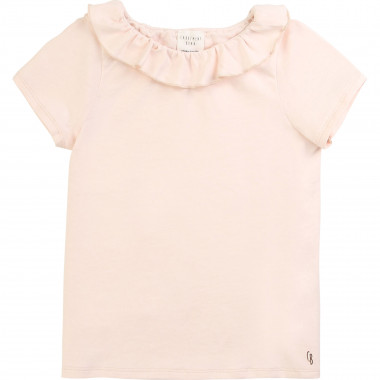 Frilled jersey T-shirt CARREMENT BEAU for GIRL