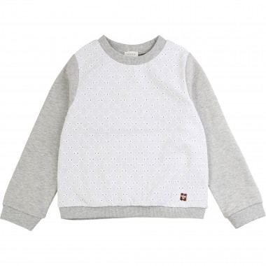 Broderie anglaise sweatshirt CARREMENT BEAU for GIRL