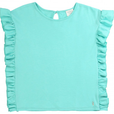 Plain frilled T-shirt CARREMENT BEAU for GIRL