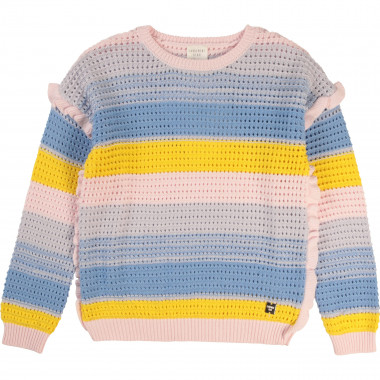 Novelty knit jumper CARREMENT BEAU for GIRL